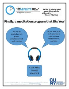 Free Talk On Mindfulness Practice For >> Free Mindfulness Course For Cuny Students 10 Minute Mind Medieval